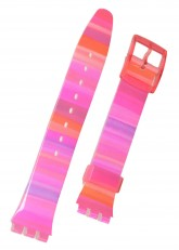 Swatch Strap Classic Pink 'Astilbe' 17mm AGP140