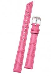 Hirsch 'Princess' Pink Leather Strap, 14mm