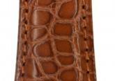 Hirsch 'Regent' M Golden Brown Leather Strap, 19mm
