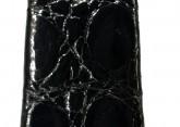 Hirsch 'Prestige' M 17mm Black Leather Strap