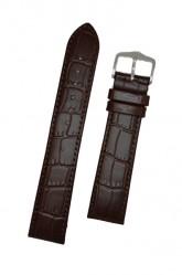 Hirsch 'LouisianaLook' Brown Leather Strap, 16mm