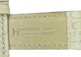 Hirsch 'Aristocrat' 16mm Beige Leather Strap