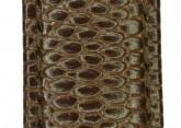Hirsch 'Rainbow' L Brown Leather Strap, 22mm