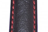 Hirsch 'Jumper' XL Black Leather Strap, 20mm