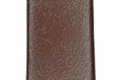 Hirsch 'Italocalf' Brown ,L,  Leather Strap, 12mm