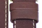 Hirsch 'Mariner' 24mm Brown Leather Strap