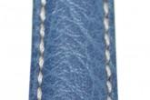 Hirsch 'Jumper' Blue Leather Strap, 20mm