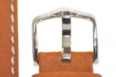 Hirsch 'Mariner' 18mm tan Leather Strap