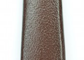 Hirsch 'Diamond calf'' Brown Leather Strap,M, 14mm