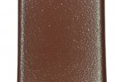 Hirsch 'Italocalf' Brown ,L,  Leather Strap, 18mm