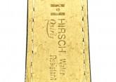 Hirsch 'Osiris' Black Leather Strap, 20mm
