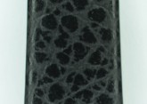 Hirsch 'Dakota' Black, leather watch strap, L, 14mm