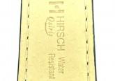 Hirsch 'Osiris' L Black Leather Strap, 16mm