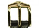 Hirsch 'Merino-Artisan' M Brown Leather Strap, 14mm