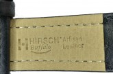 Hirsch 'Buffalo' L 20mm Black Leather Strap