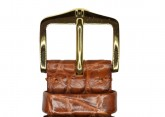 Hirsch 'Regent' M Golden Brown Leather Strap, 20mm