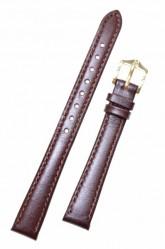 Hirsch 'Osiris' Brown Leather Strap, 12mm