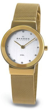 Ladies Skagen Bracelet Watch 358SGGD