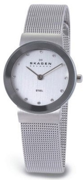 Ladies Skagen Bracelet Watch 358SSSD