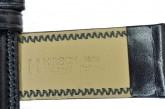 Hirsch 'Ascot' 19mm Black Leather Strap