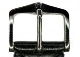 Hirsch 'Siena' L Black,19mm  Tuscan Leather Strap