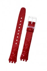 Swatch Strap Classic 'Strawberry Jam' 12mm ALK243