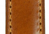 Hirsch 'Siena' L Golden Brown,19mm  Tuscan Leather Strap