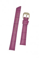 Hirsch 'Princess' Fuchsia Leather Strap, 16mm