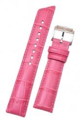Hirsch 'Princess' Pink Leather Strap, 20mm
