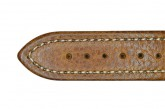 Hirsch 'Buffalo' L 18mm Golden Brown Leather Strap