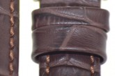 Hirsch 'Grand Duke' XL 22mm Brown Strap
