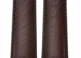 Hirsch 'Highland' L Brown, leather watch strap 19mm