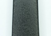 Hirsch 'Diamond calf'' Black Leather Strap,M, 6mm