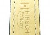 Hirsch 'Princess' Black Leather Strap, 16mm