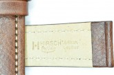 Hirsch 'Buffalo' M 20mm Brown Leather Strap