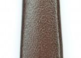Hirsch 'Diamond Calf'' Brown Leather Strap,L, 16mm