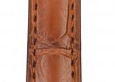 Hirsch 'London' M Golden Brown Leather Strap, 16mm