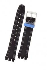 Swatch Classic Strap 'Blue Choco'  17mm AGM415