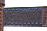 Hirsch 'Grand Duke' High Tech 20mm Brown Leather Strap