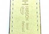 Hirsch 'Osiris' L Burgundy Leather Strap, 20mm