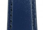 Hirsch 'Umbria ' M Blue Leather Strap, 12mm