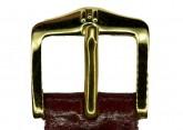 Hirsch 'Siena' M Burgundy, 14mm  Tuscan Leather Strap