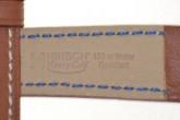 Hirsch 'Heavy Calf' 24mm  Golden Brown Leather Strap