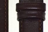 Hirsch 'Osiris' Brown Leather Strap, 14mm