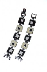 Swatch Bracelet 'Chessboard' 12mm ALB160G
