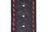 Hirsch 'Jumper' XL Black Leather Strap, 22mm
