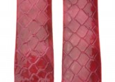 Hirsch 'Pythea Strawberry'  20mm  Strawberry Leather Strap