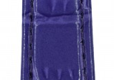 Hirsch 'LouisianaLook' M Violet Leather Strap, 12mm