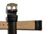 Hirsch 'Kansas' Black Calfskin Leather Strap, 14mm