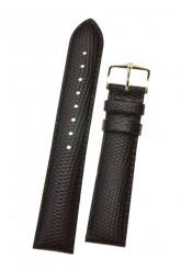 Hirsch 'Rainbow' L Brown Leather Strap, 20mm